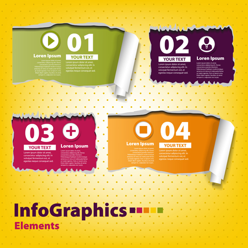 Business Infographic creative design 1073 free
