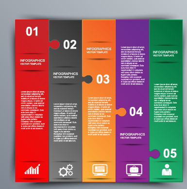 Business Infographic creative design 1381 free