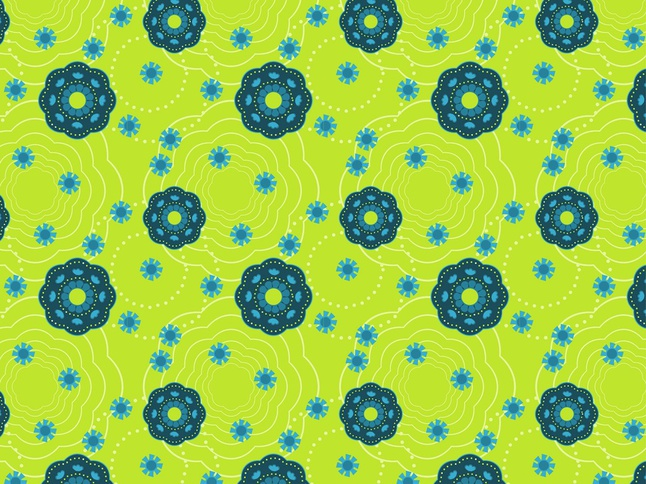 Floral Pattern Wallpaper vector free