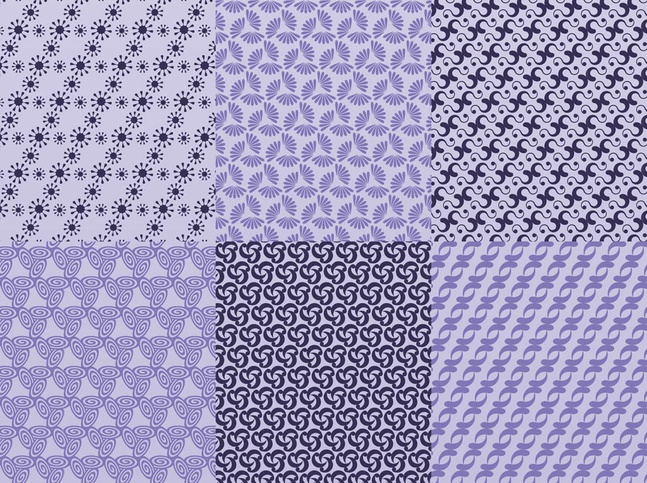 Vector Seamless Patterns free