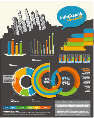 Business Infographic creative design 1281 free