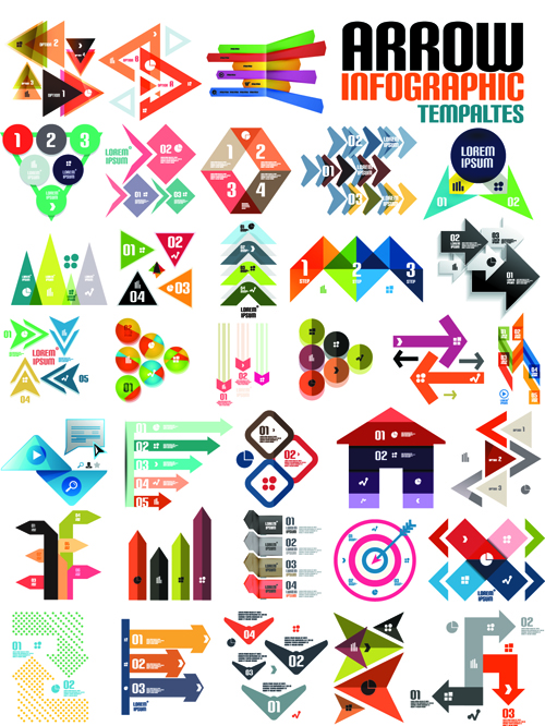 Creative infographic design elements vector 05 free