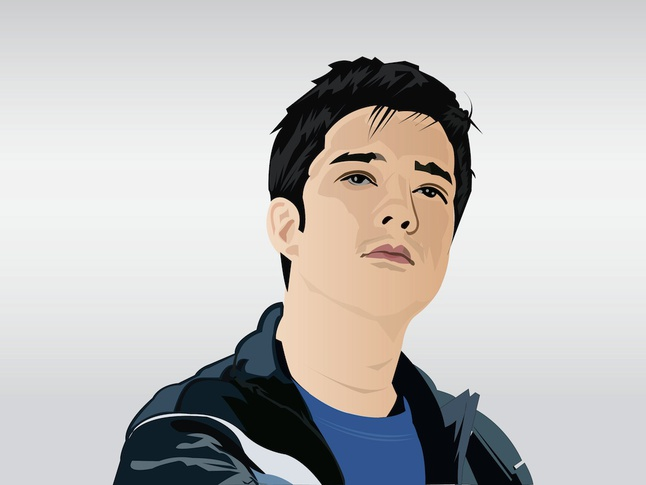 Francis Magalona Portrait vector free
