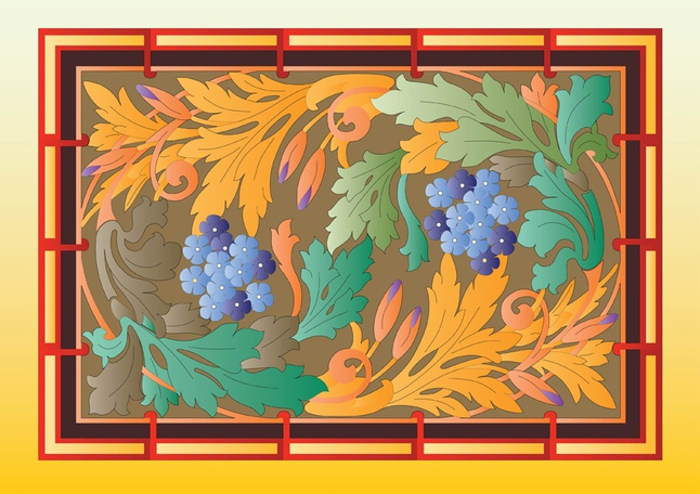 Autumn Forest Nature vector free