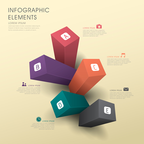 Business Infographic creative design 1375 free