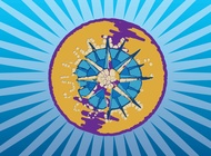 Compass Graphics vector free