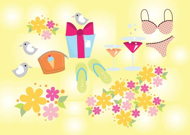 Summer Joy Vectors free