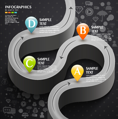 Business Infographic creative design 1513 free