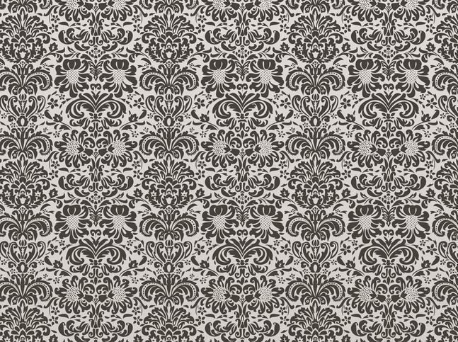 Damask Floral Pattern vector free
