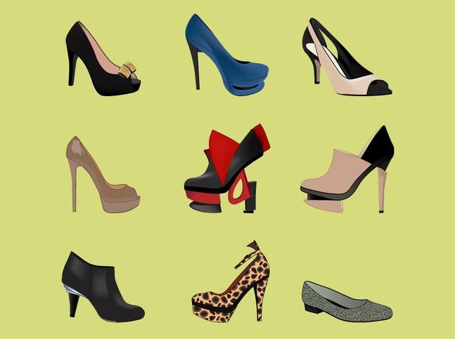 High Heel Fashion vector free