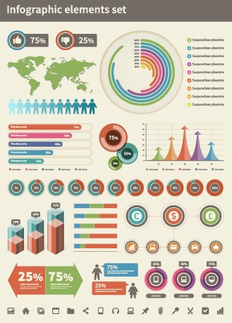 Business Infographic creative design 1101 free