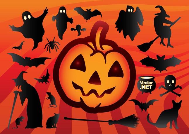 Cool Halloween Vectors free