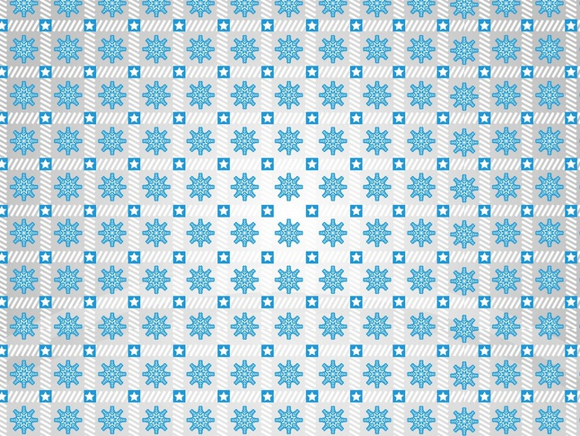 Snowflakes Pattern vector free