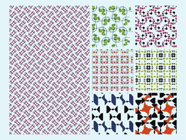 Abstract Patterns vector free