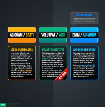 Business Infographic creative design 983 free