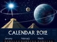 Mayan Calendar Vector free