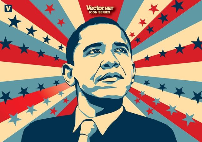 Obama vector free