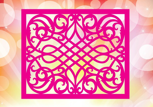 Pink Pattern vector free