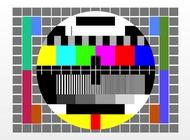 No Signal TV vector free
