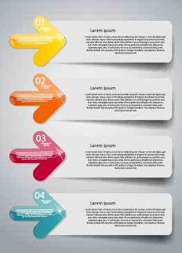 Creative number business banner template 01 free