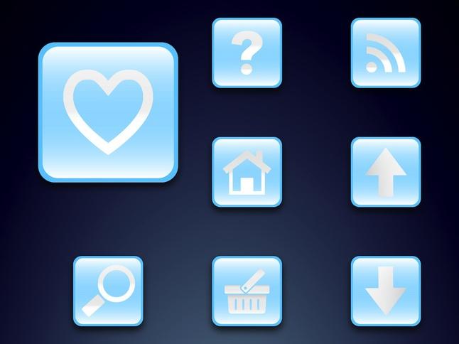 Icon Set vector free