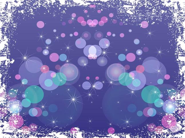 Grunge Sparkles vector free