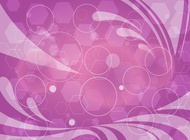 Abstract Purple Geometric Graphics vector free