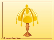 Antique Lamp Vector free