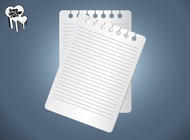 Sheets Of Paper vector free