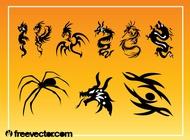 Tattoos Vector Graphics free