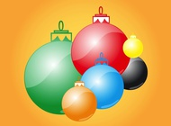 Christmas Decorations vector free