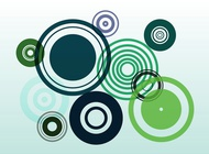 Fresh Circles vector free