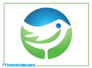 Bird Logo Template vector free