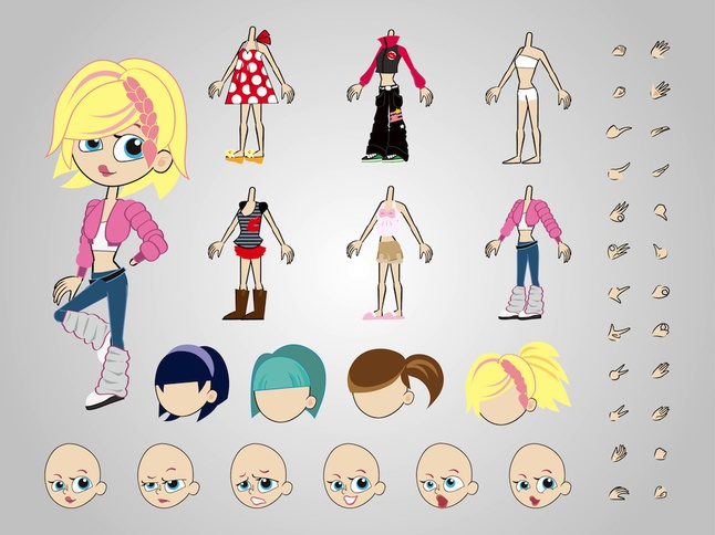 Character Design Vector Free Download : Character designs vector free download