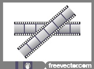 Strips Of Film Graphics vector free