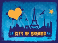 City Of Dreams Vector free