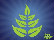 Plants Leaves Graphics vector free