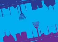 Cool Urban Background vector free