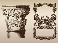 Antique Design vector free