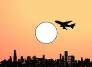 Sunny City vector free