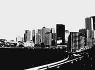 Urban Life vector free