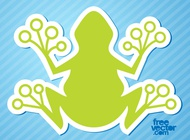 Frog Icon vector free