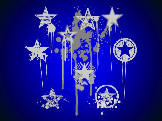 Graffiti Stars vector free | Free download Graffiti Stars Drawings