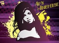 Amy Winehouse Vector Art free