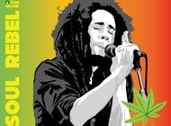 Bob Marley Vector free