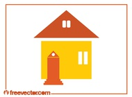 House Icon Graphics vector free