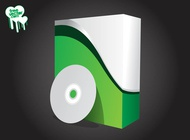 Box And CD Graphics vector free