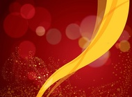 Red Background Vector Yellow Ribbon free