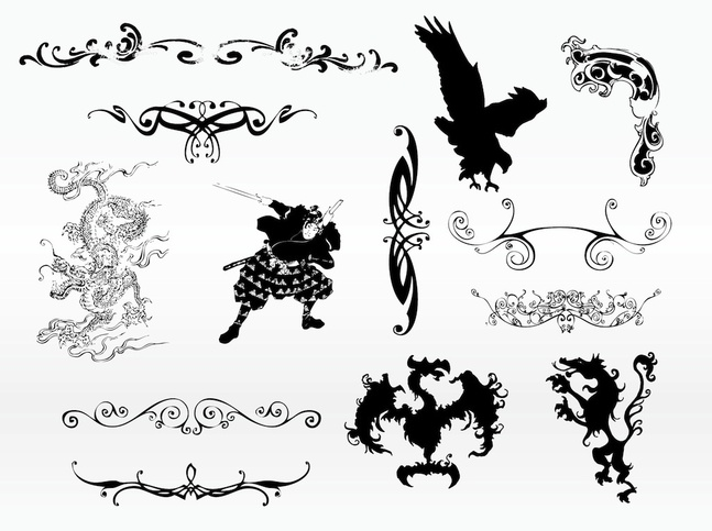 cool tattoo designs vector free free download. Black Bedroom Furniture Sets. Home Design Ideas