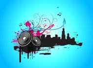 Music City Vector Graphics free